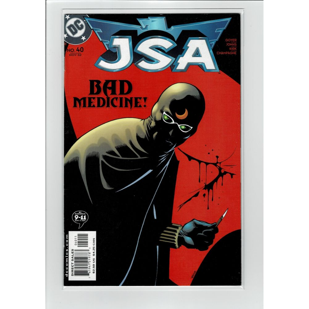 JSA #40 Justice Society of America DC Comics Book