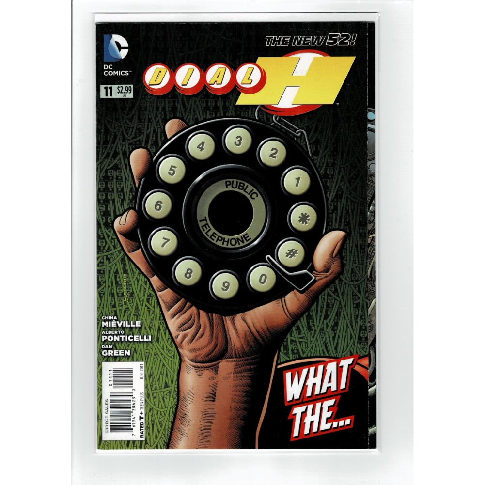 Dial H #11 The New 52 What The... New  DC Comics Book