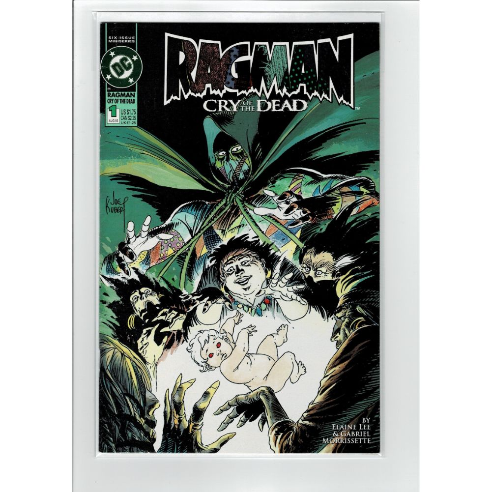 Ragman #1 Cry of the Dead DC Comics Book