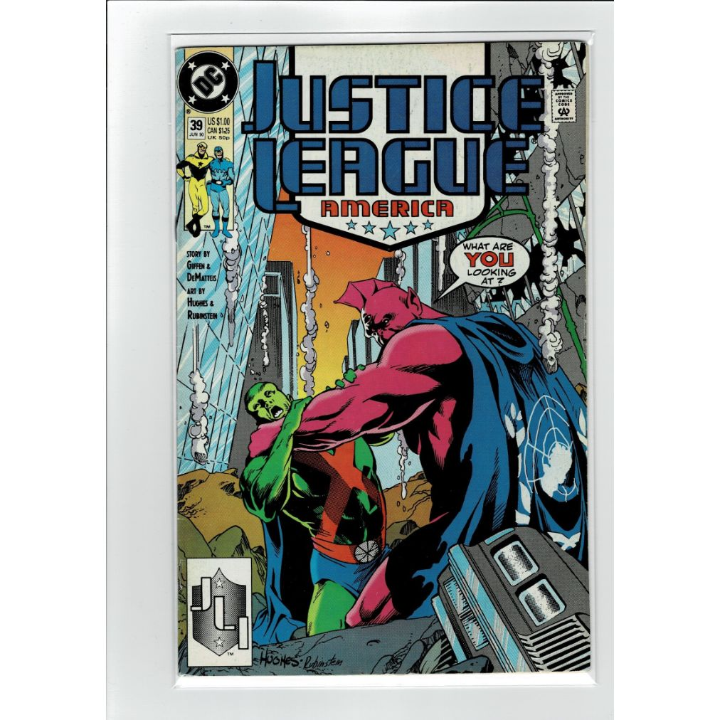 Justice League America #39 DC Comics Book