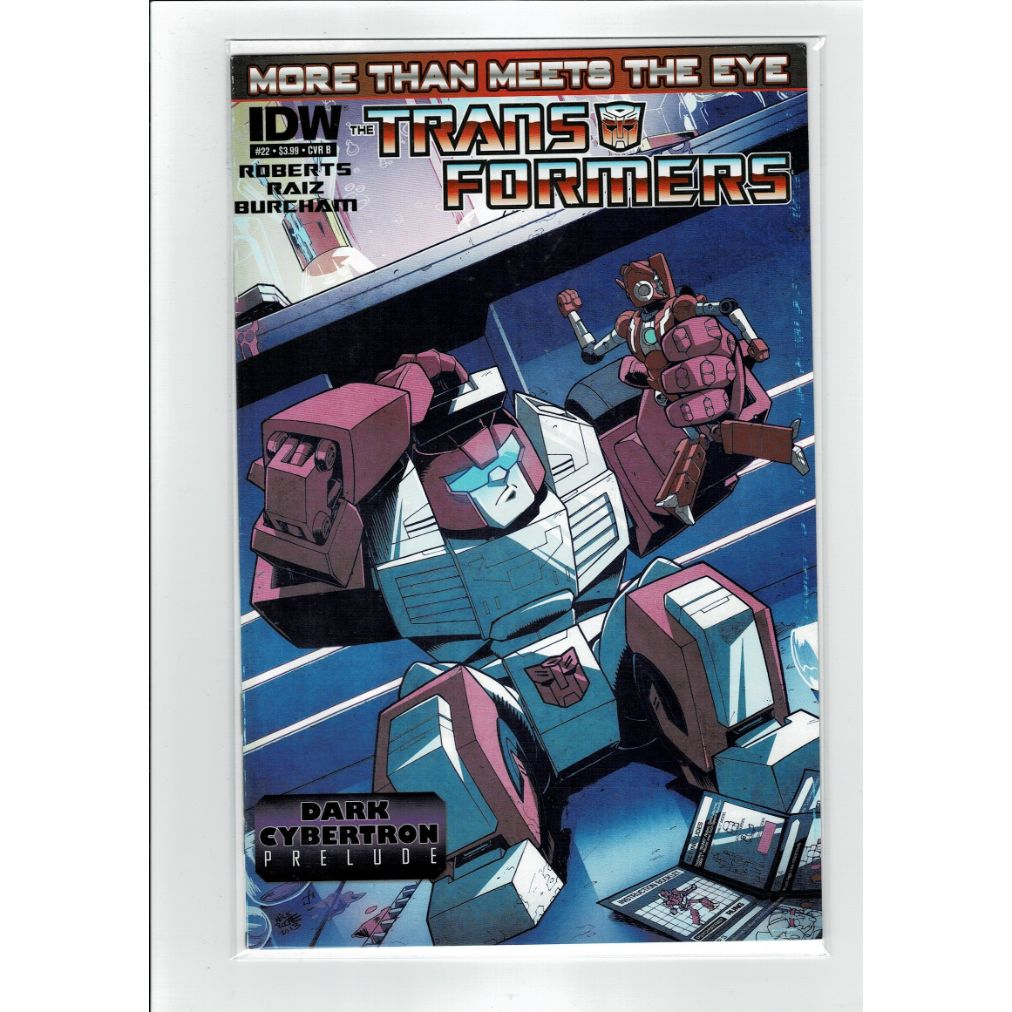 Transformers #22 More than meets the eye Cover B IDW Comics Book
