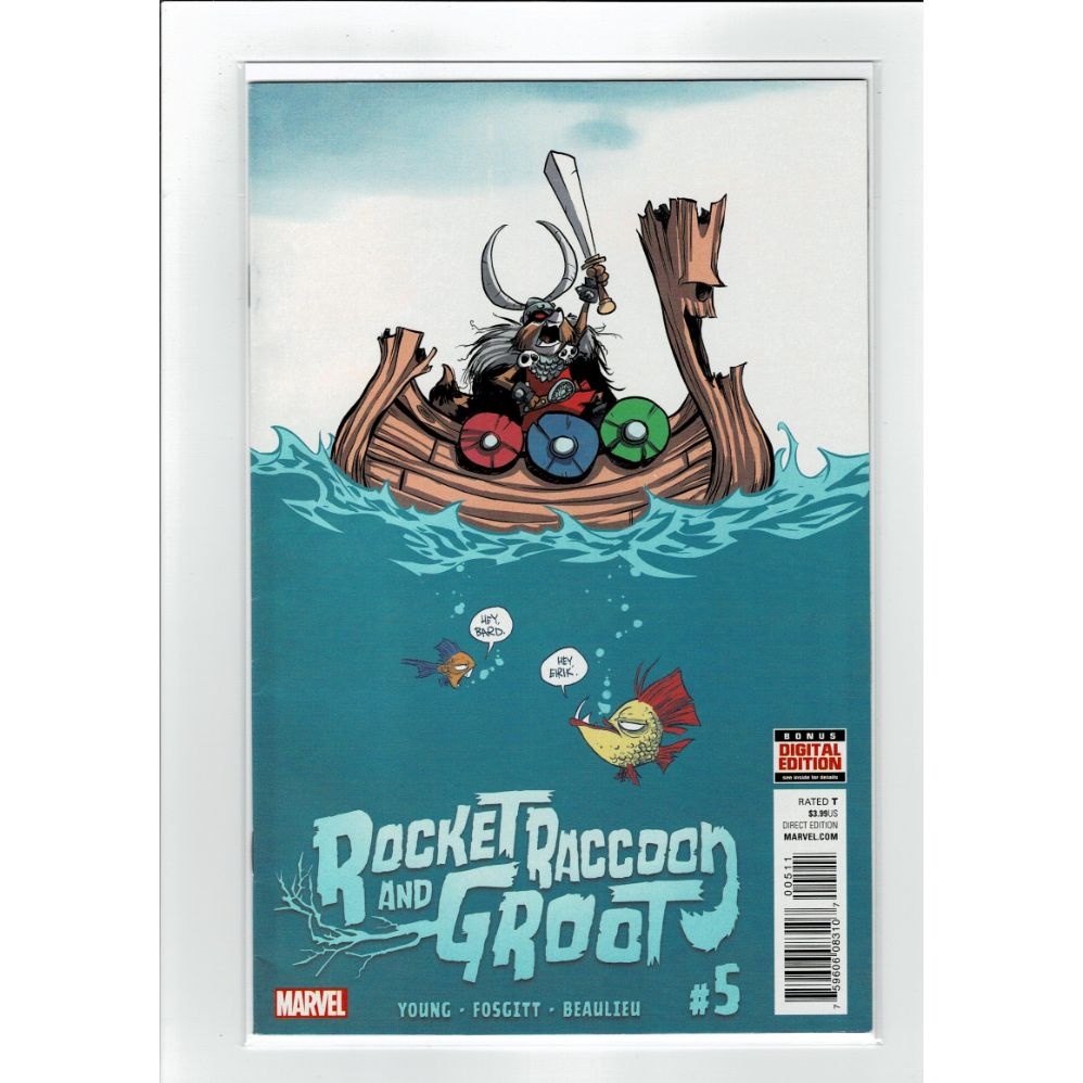 Rocket Raccoon and Groot #5 Marvel Comics Book