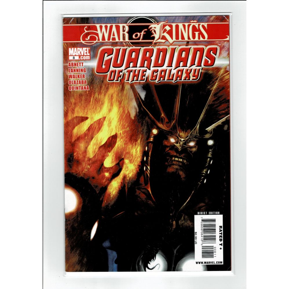 Guardians of the Galaxy #8 War Of Kings Marvel Comics Book