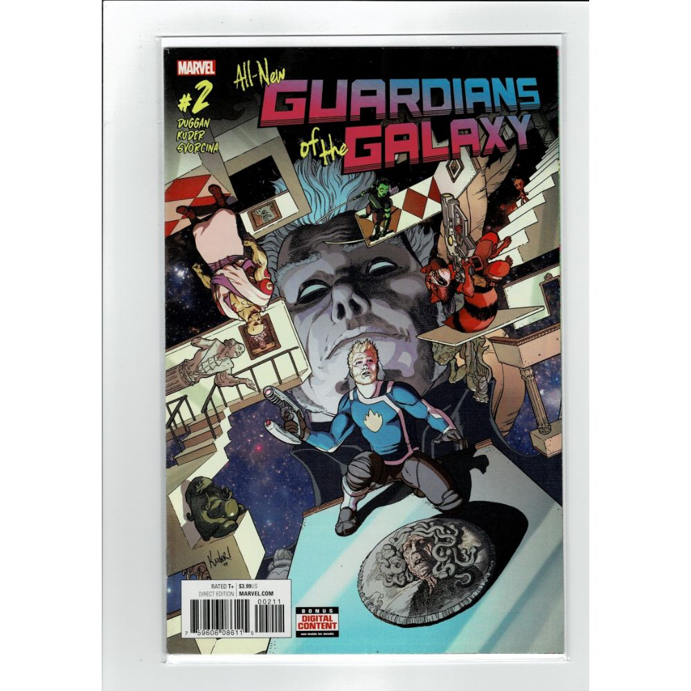 All New Guardians of the Galaxy #2 Marvel Comics Book