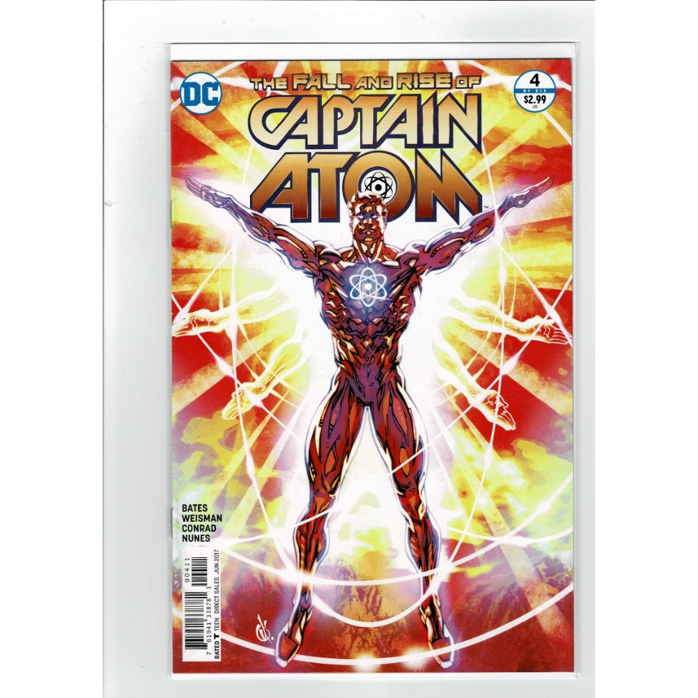 The Fall and Rise of Captain Atom #4 DC Comics Book