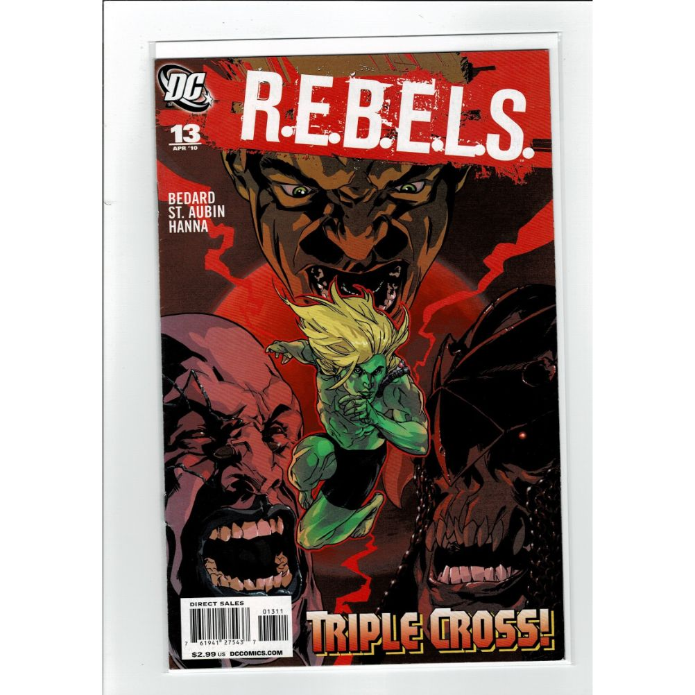 REBELS #13 Triple Cross DC Comics Book