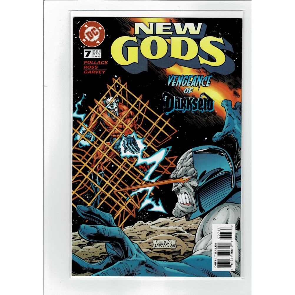 New Gods #7 Vengeance of Darkseid DC Comics Book