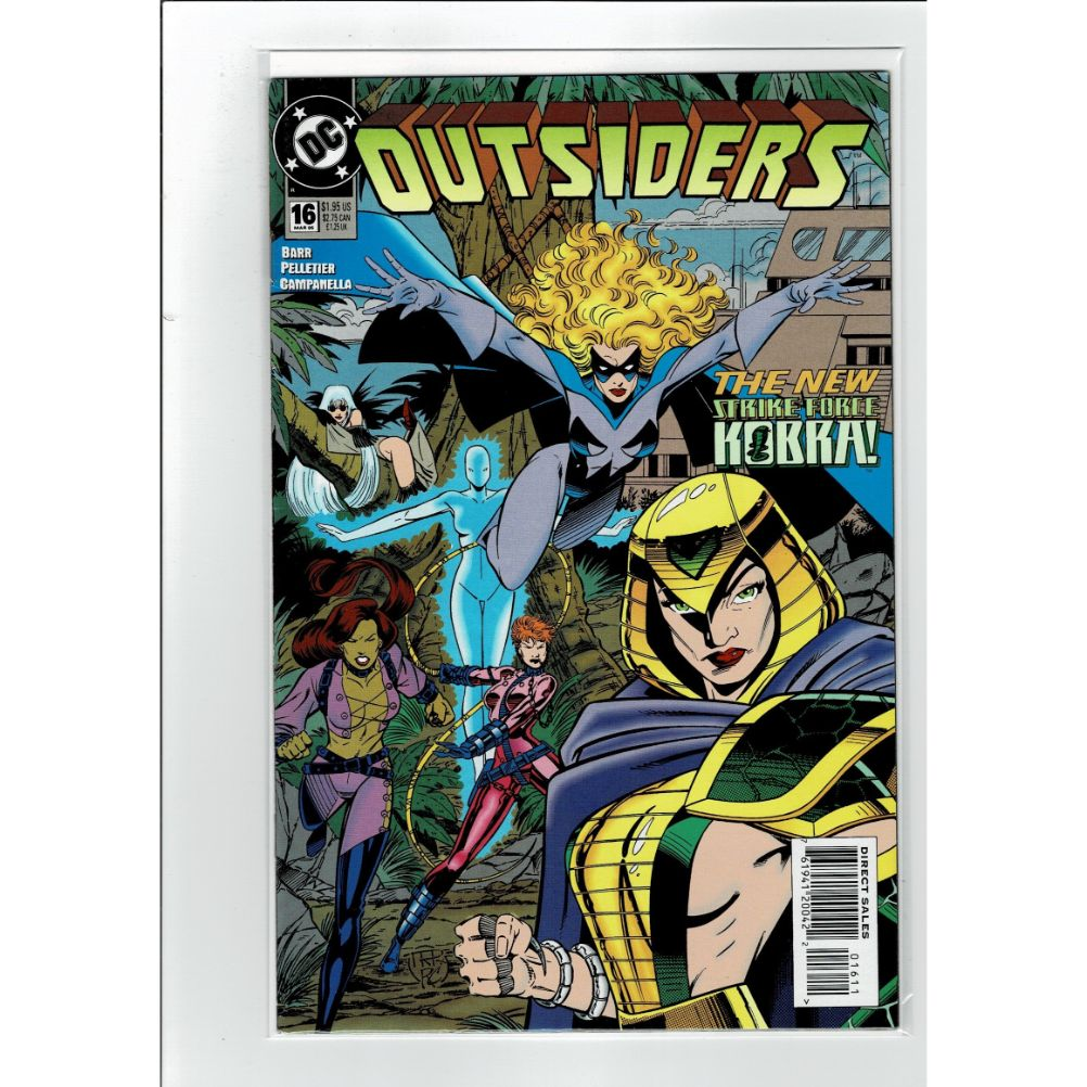 Outsiders #16 New Strike Force Kobra! DC Comics Book