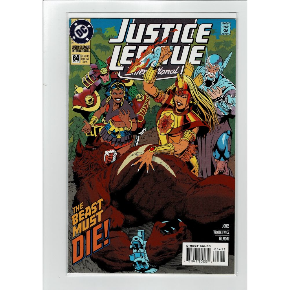 Justice League International #64 DC Comics Book