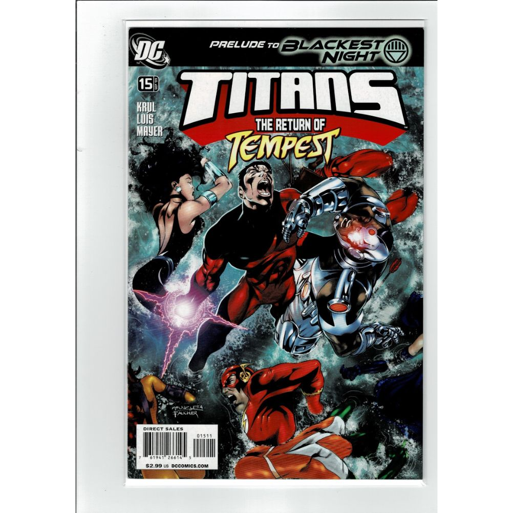 Titans #15 Return of Tempest DC Comics Book