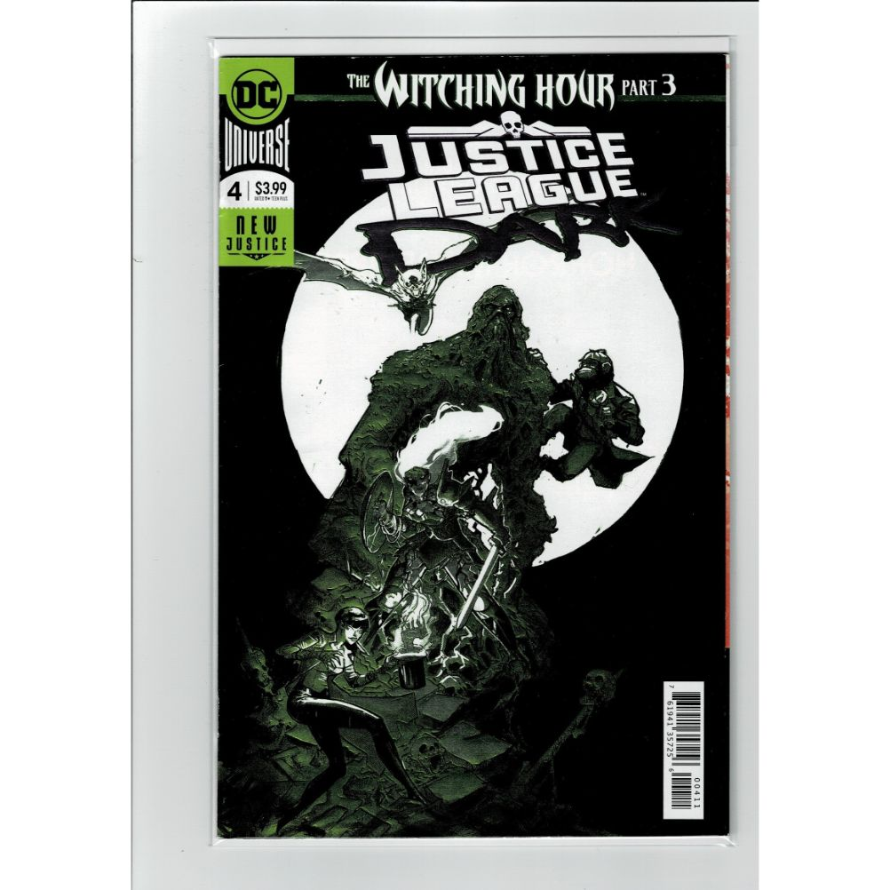 Justice League Dark #4 Witching Hour 3 DC Comics Book