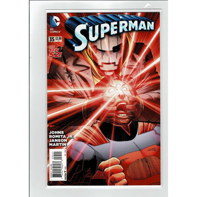Superman #35 The New 52 DC Comics Book