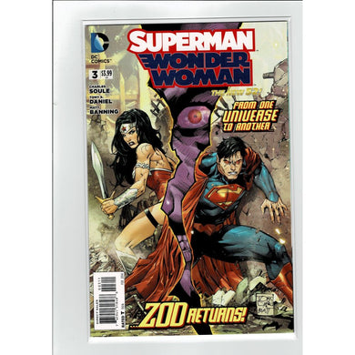 Superman Wonder Woman #3 ZOD Returns! DC Comics Book