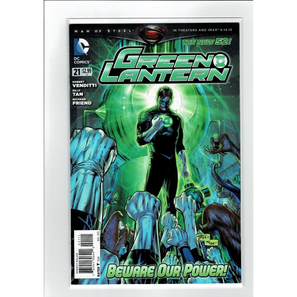 Green Lantern #21 New 52 DC Comics Book