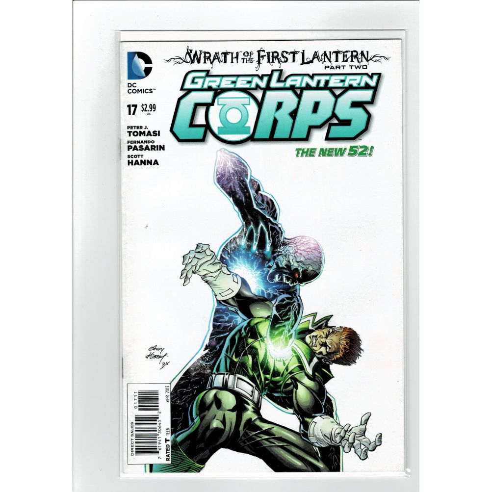 Green Lantern Corps #17 New 52 DC Comics Book