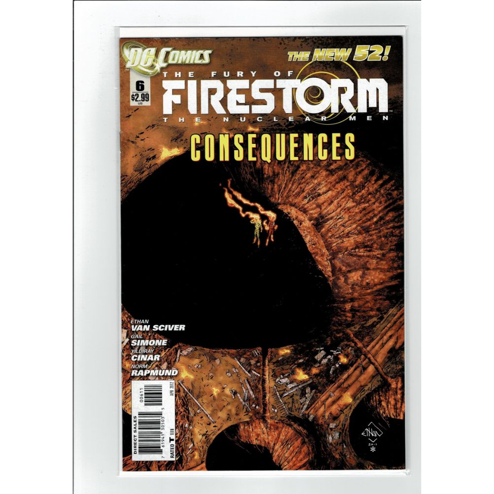 The Fury Of Firestorm The Nuclear Men #6 DC Comics Book