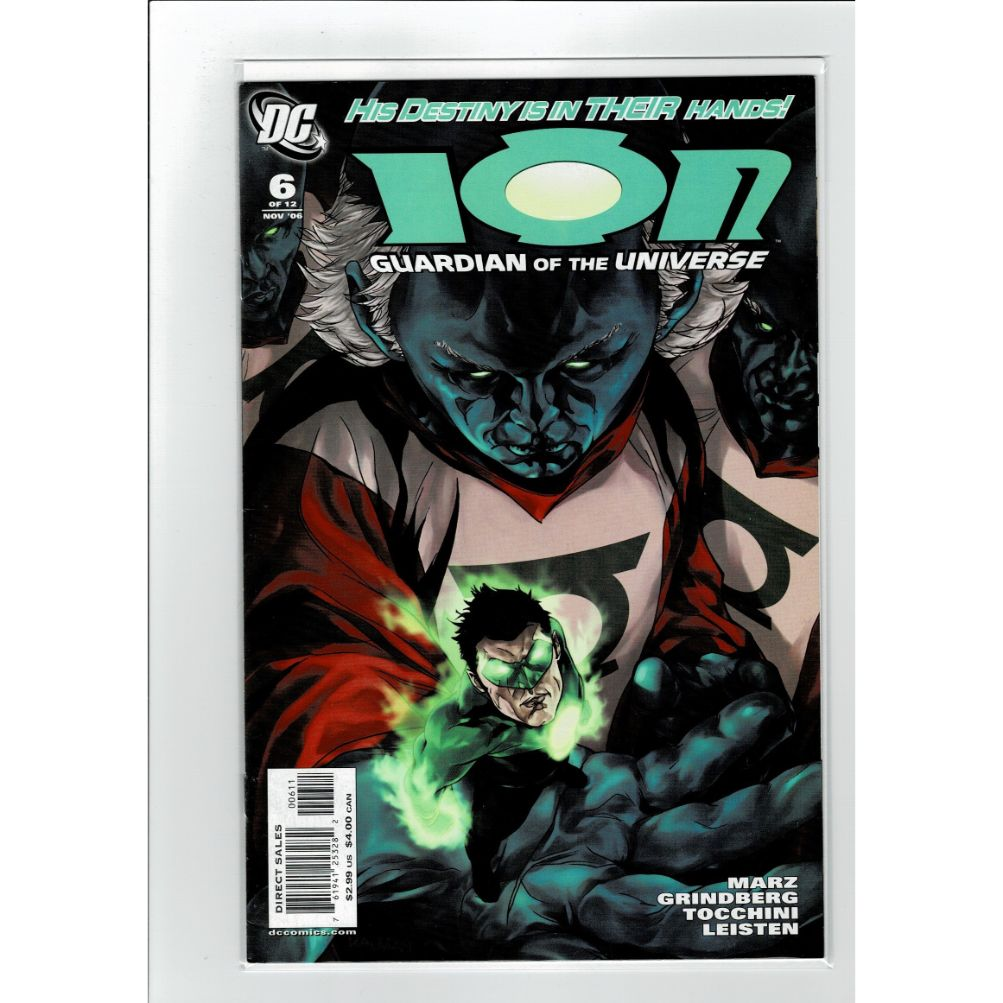 ION Guardian Of The Galaxy #6 DC Comics Book
