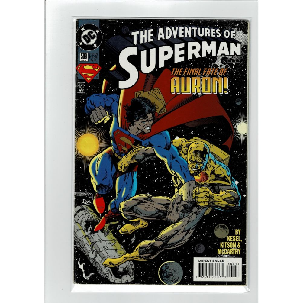 The Adventures Of Superman #509 DC Comics Book