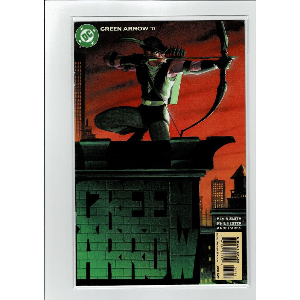 Green Arrow #11 DC Comics Book