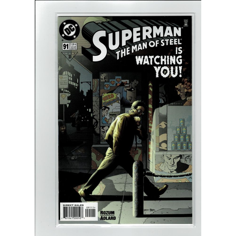 Superman The Man Of Steel #91 DC Comics Book