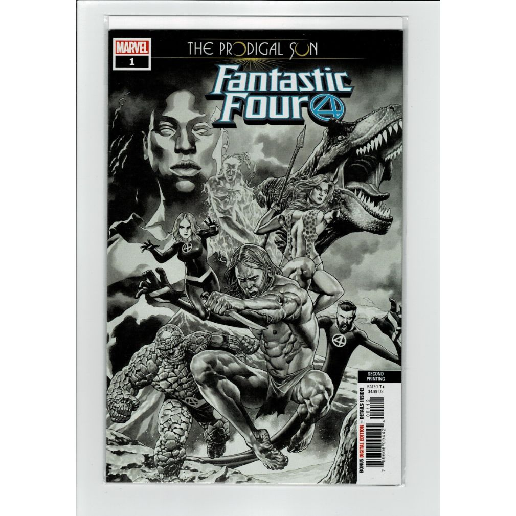 The Prodigal Son Fantastic Four #1 Second Printing Variant Comics Book
