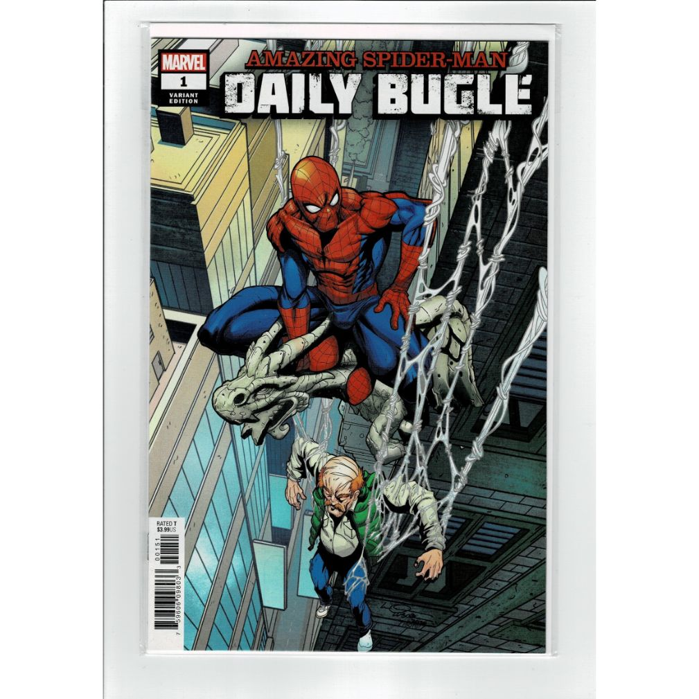Amazing Spider-Man Daily Bugle #1 Lubera Variant Marvel Comics Book