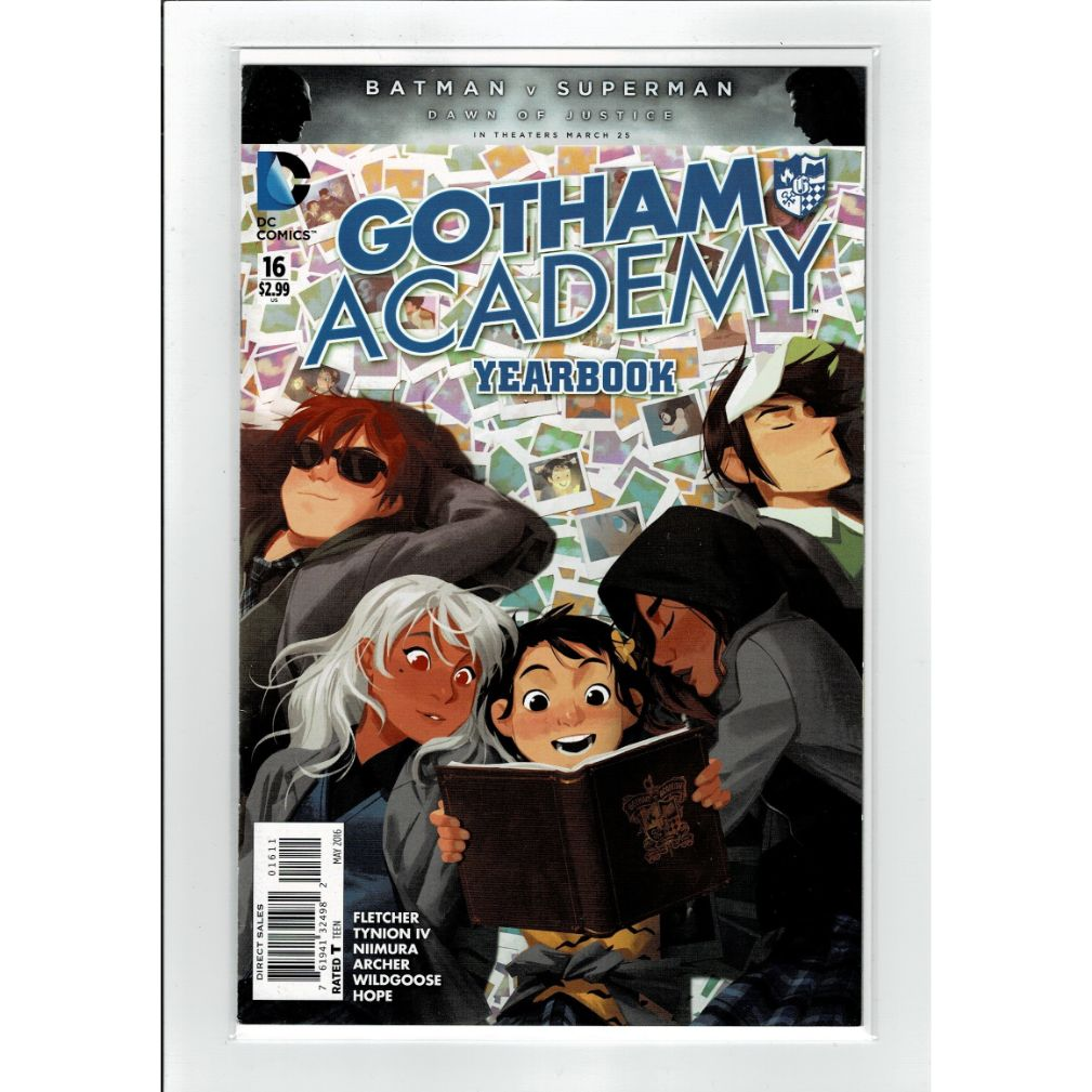 Gotham Academy Yearbook #16 DC Comics Book