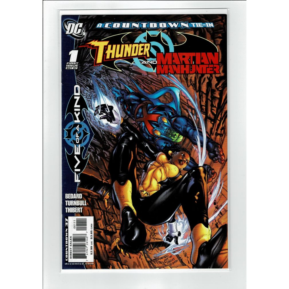Thunder and Martian Manhunter #1 Five Of A Kind DC Comics Book