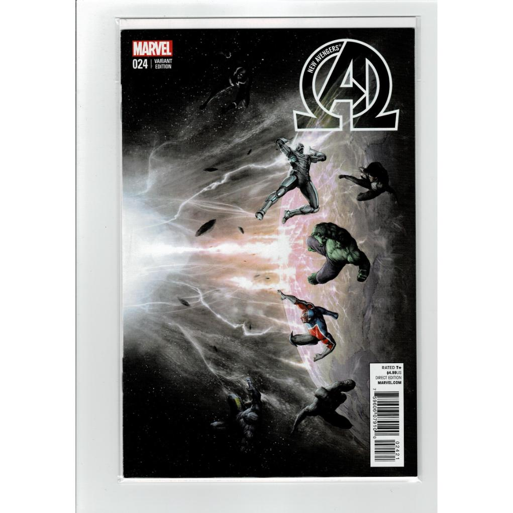 New Avengers #24 1:10 Alessio Variant Marvel Comics Book