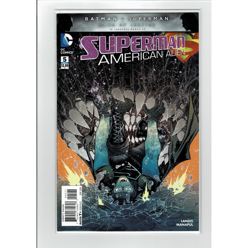 Superman American Alien #5 1:25 Ratio Variant DC Comics Book