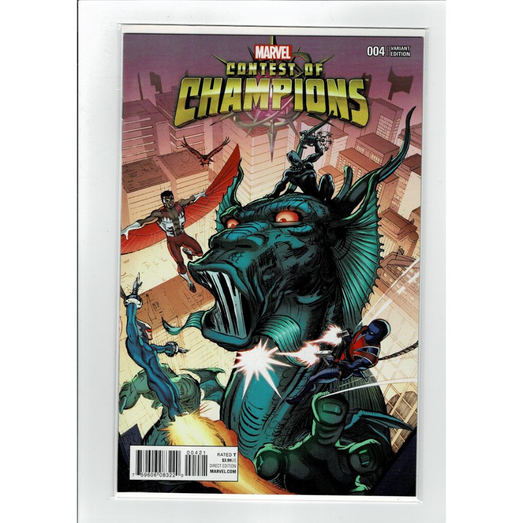 Contest Of Champions #4 1:25 Ratio Eeden Cover Variant Marvel Comics Book