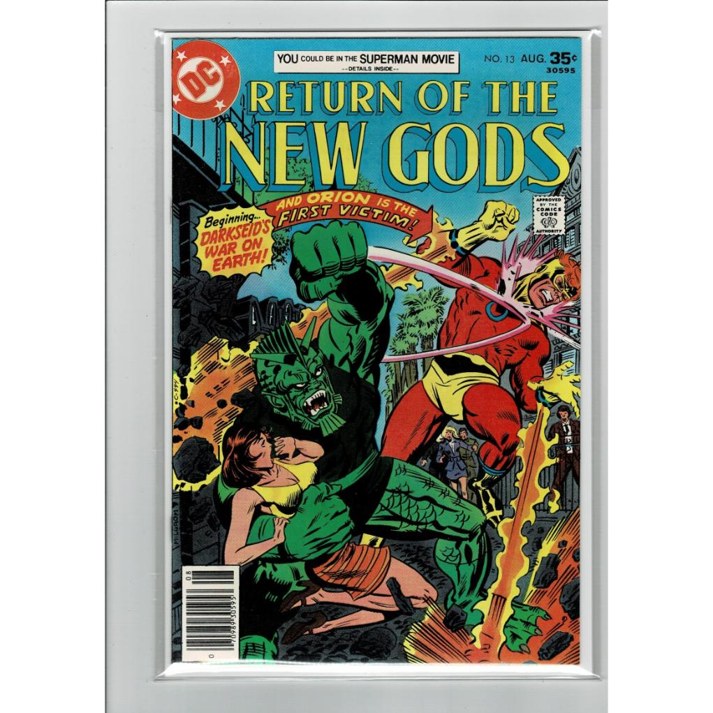 Return Of The New Gods #13 1977 9.2NM- DC Comics Book