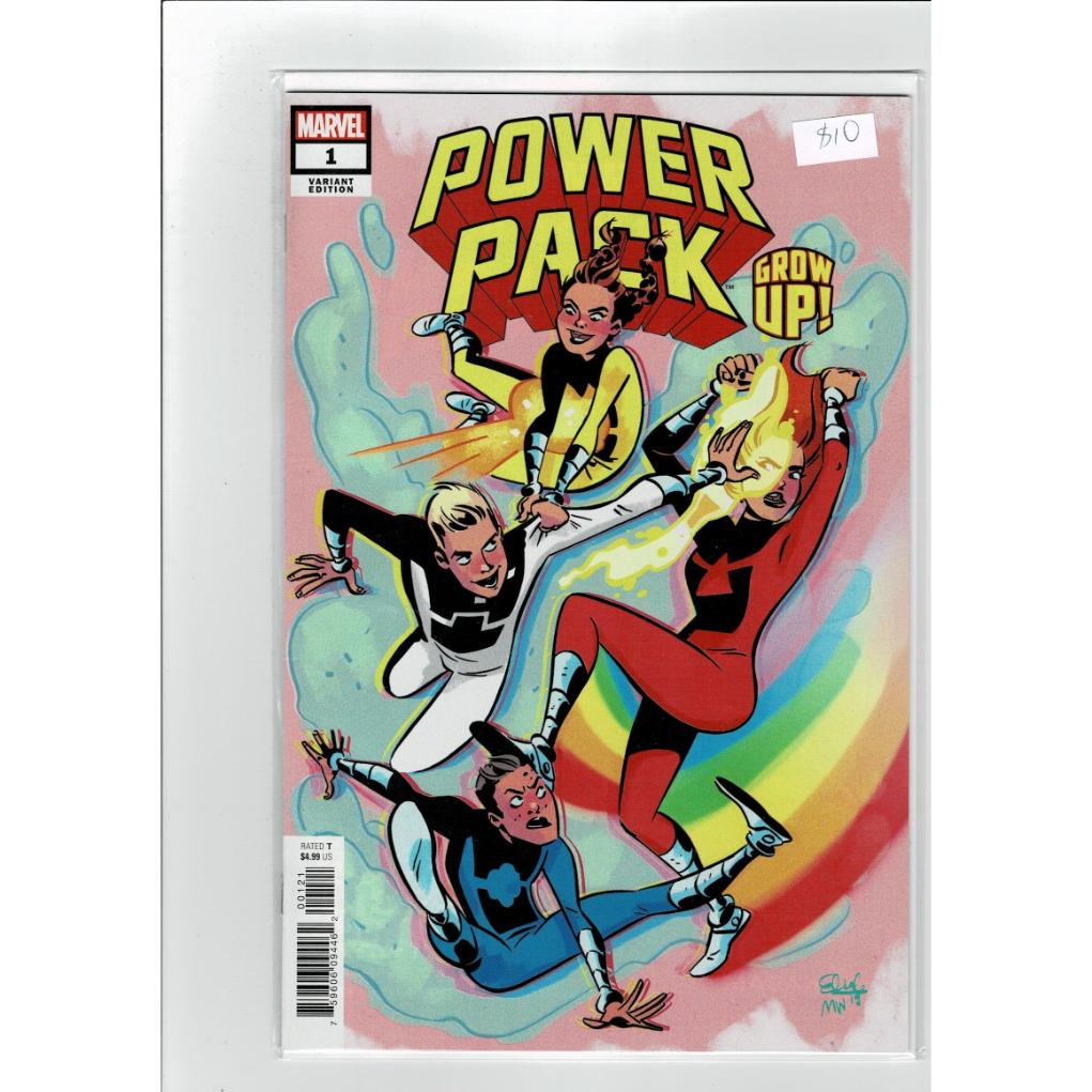 Power Pack #1 Grow Up! Variant Marvel Comics Book
