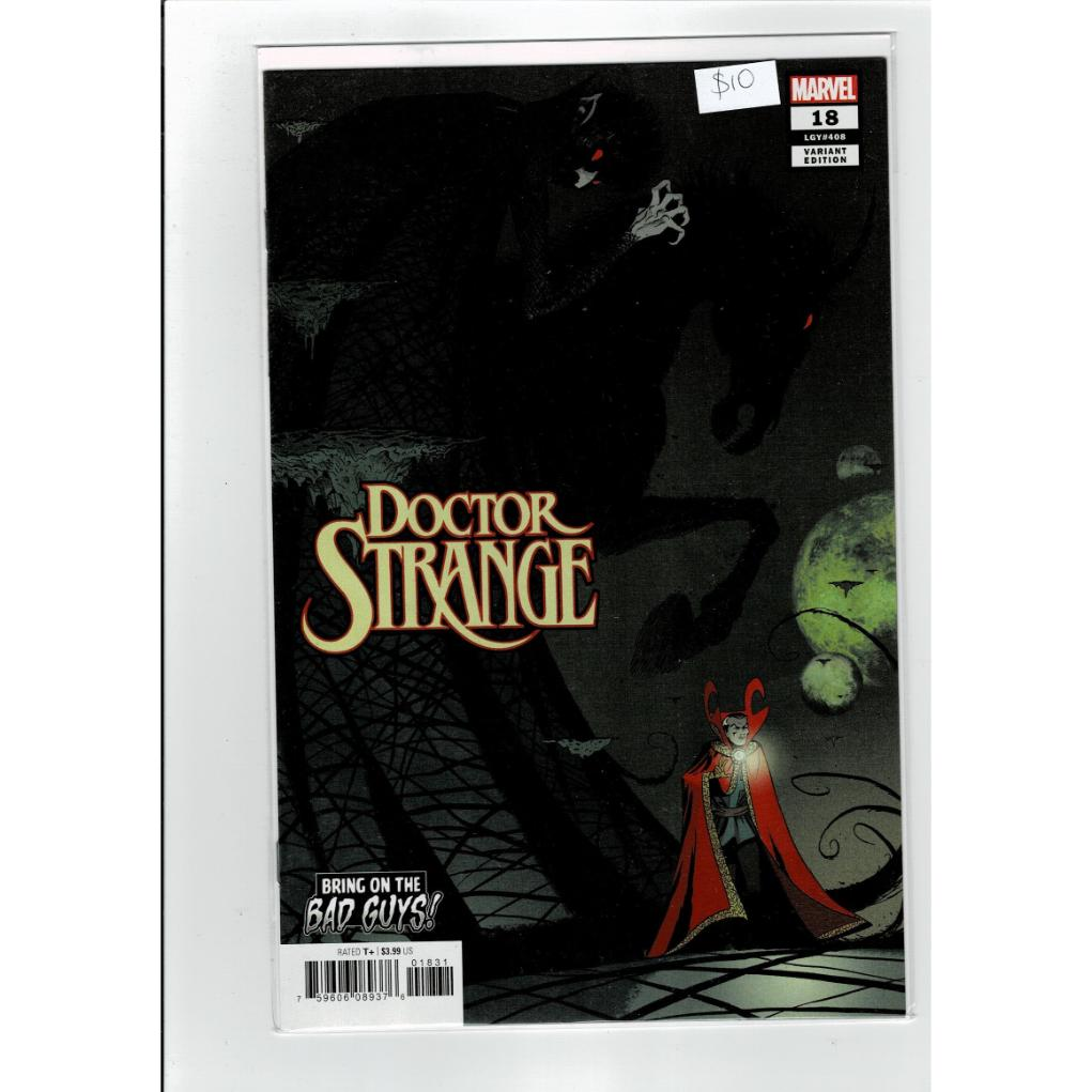 Doctor Strange #18 Variant Cover B Comics Book