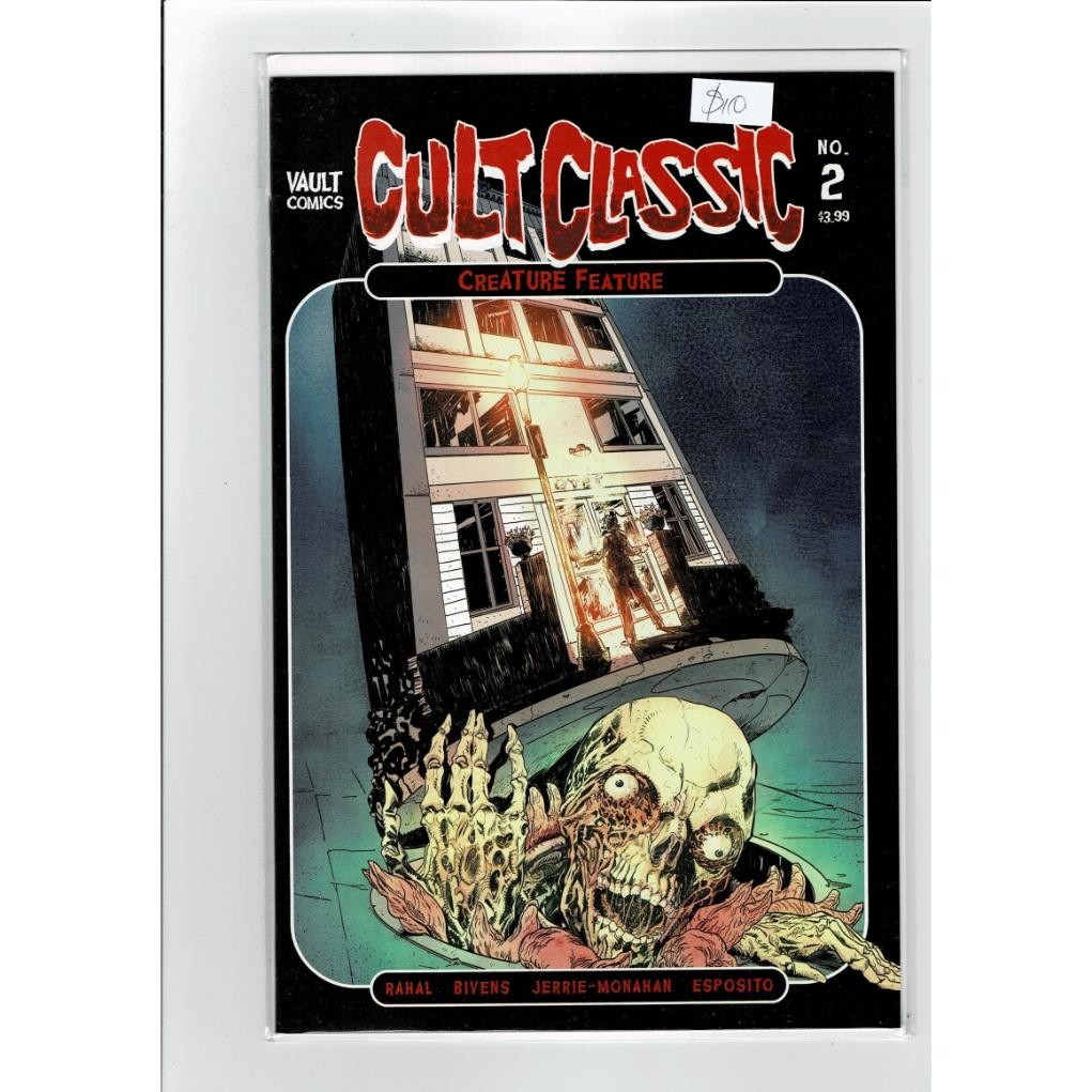 Cult Classics #2 Creature Feature Vault Comics Book