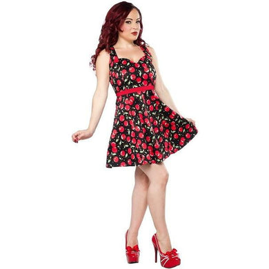 Cherry Pie Floozy Dress - By Sourpuss - Stack The Cards - [variant_title]