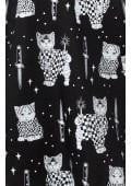 Sad Gato Floozy Dress - By Sourpuss