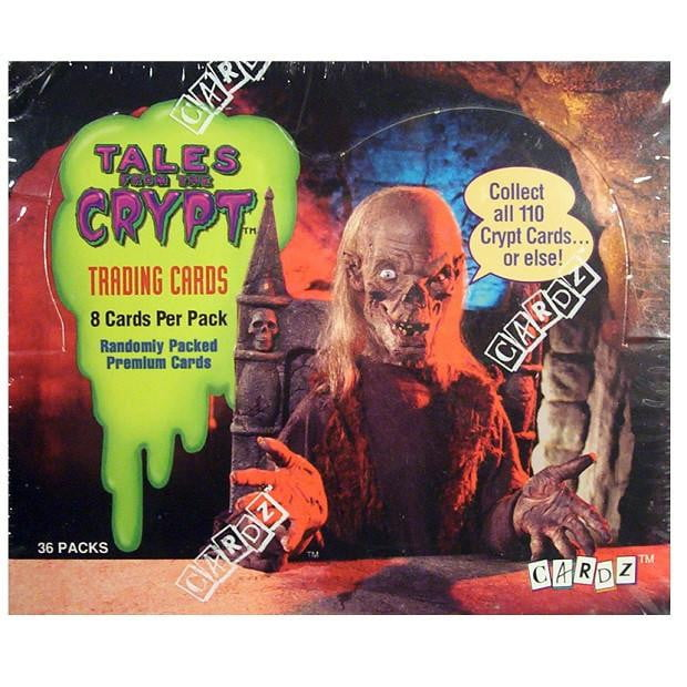 1993 Tales From The Crypt Trading Cards by CARDZ -Single Pack - Stack The Cards - [variant_title]