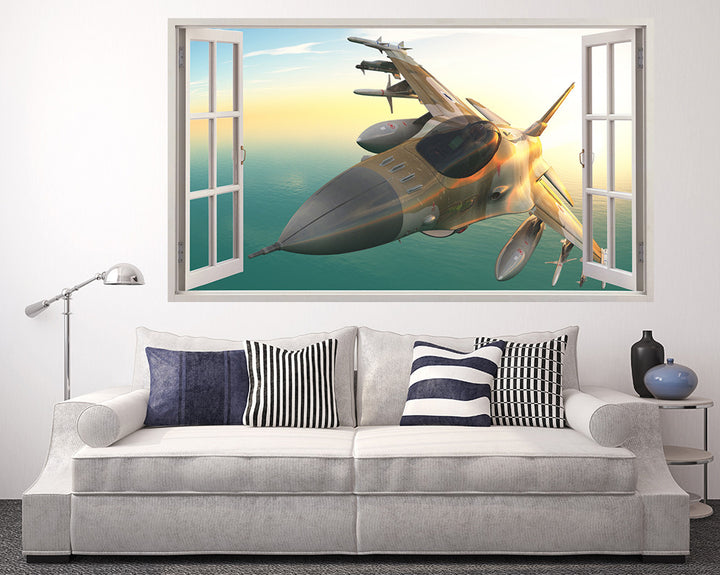 Cool War Spitfire Living Room Decal Vinyl Wall Sticker A022w