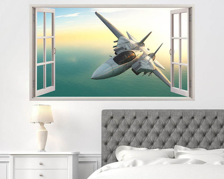 WW2 Spitfire Bedroom Decal Vinyl Wall Sticker A025