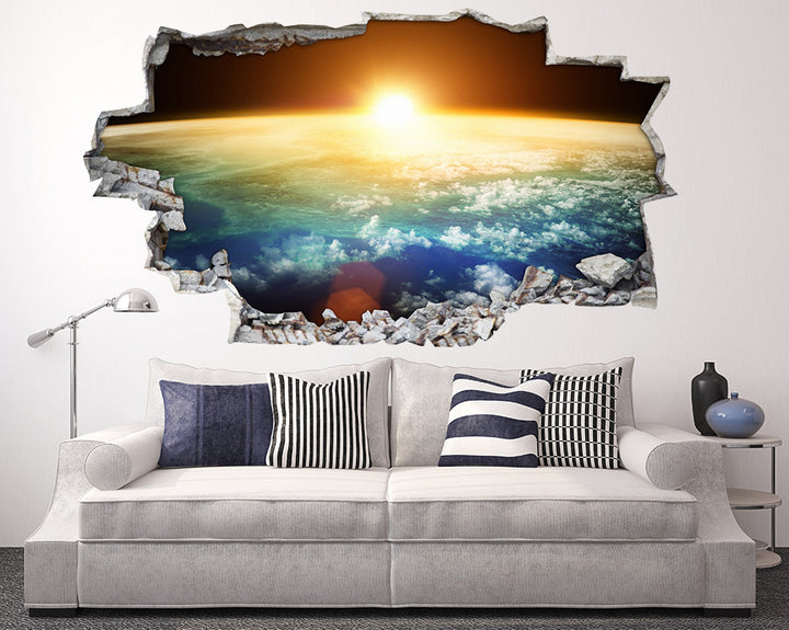 Sunrise World Morning Living Room Decal Vinyl Wall Sticker A036