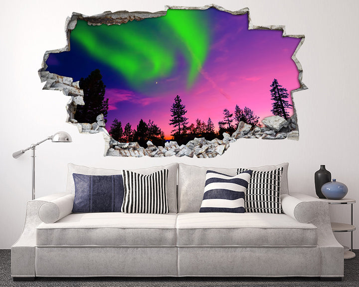 Beautiful Sky Lights Living Room Decal Vinyl Wall Sticker A112