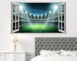 Cool Football Sport Stadium Bedroom Decal Vinyl Wall Sticker A135w