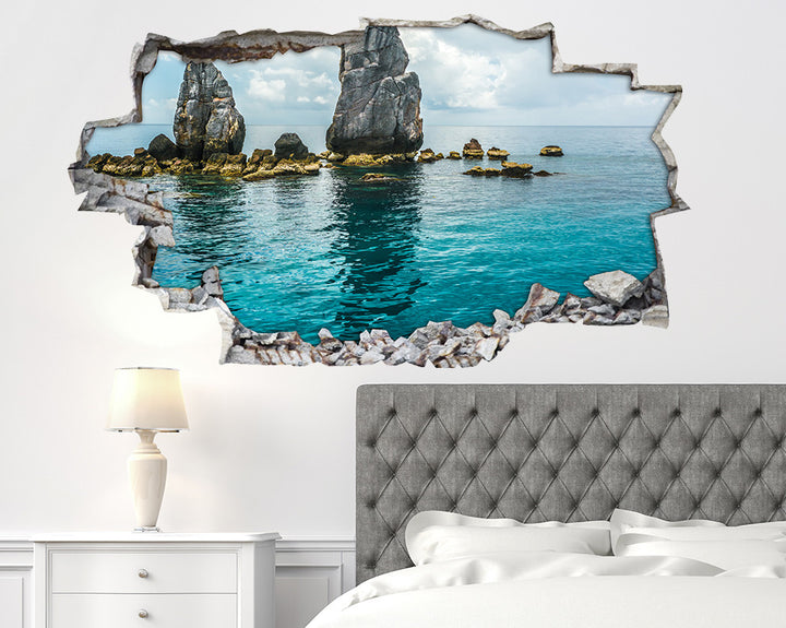 Beautiful Peaceful Water Bedroom Decal Vinyl Wall Sticker A143