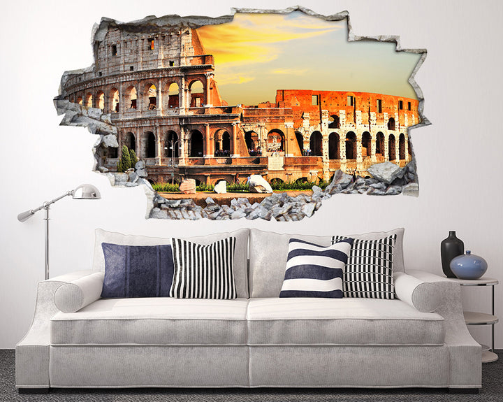 Cool Architecture Living Room Decal Vinyl Wall Sticker A153