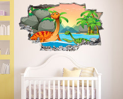 Dinosaur Fun Nursery Decal Vinyl Wall Sticker B181