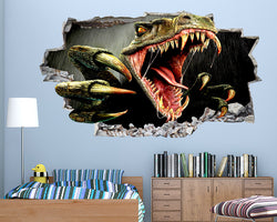 Cool Scary Dinosaur Boys Bedroom Decal Vinyl Wall Sticker C146