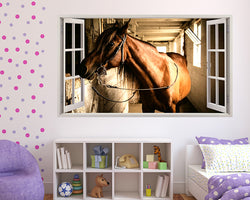 Horse Animal Stables Girls Bedroom Decal Vinyl Wall Sticker F664
