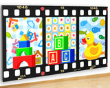 G931 Baby Kids Nursery Colours Toys Canvas Picture Poster Wall Art Stickers Room