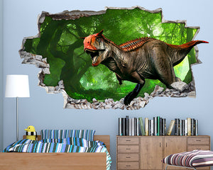 Cool Dinosaur World Boys Bedroom Decal Vinyl Wall Sticker H037